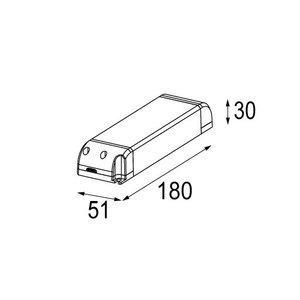 Modular LED gear 48V 75W