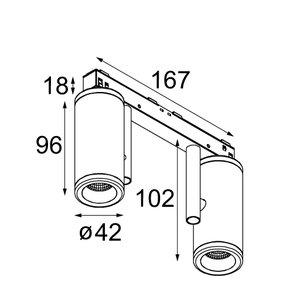 Modular Modular Pista Médard 42 - warm dim GI