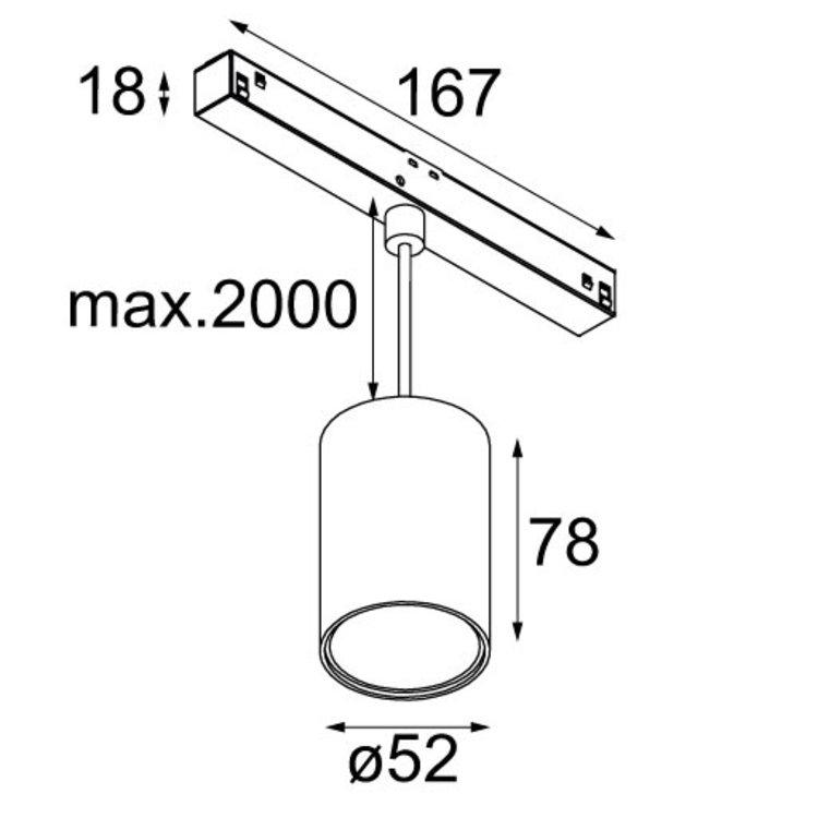 Modular Modular Pista Smart tubed suspension 48V