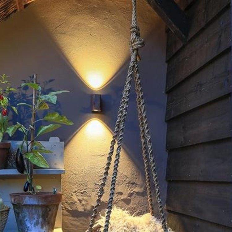 In-Lite buitenlampen en tuinverlichting 12 volt In-lite Ace up-down Flat grey