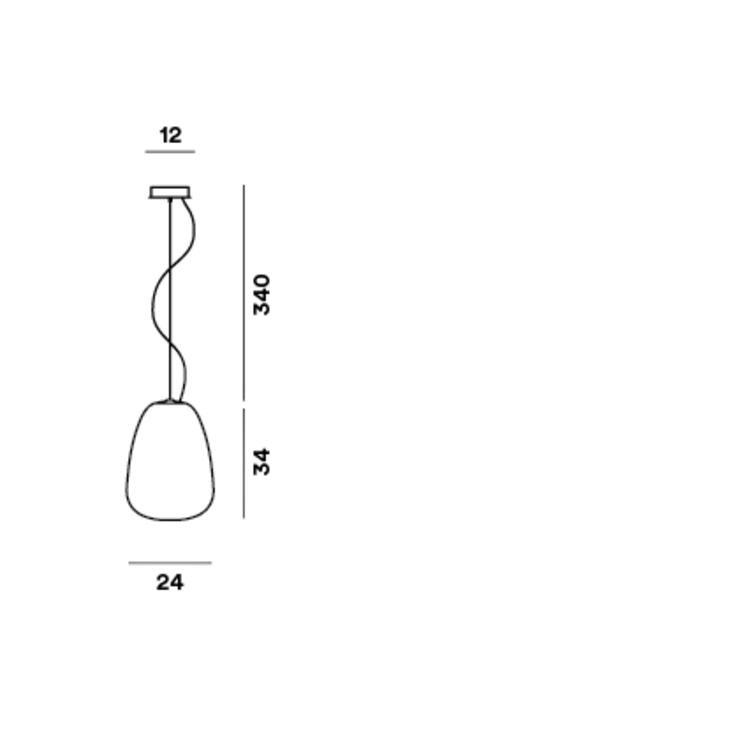 Foscarini Rituals suspension