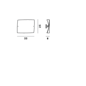 Foscarini Folio wall