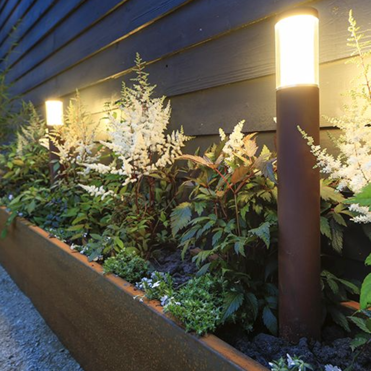 In-Lite buitenlampen en tuinverlichting 12 volt LIV  CORTEN