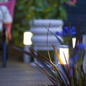 In-Lite buitenlampen en tuinverlichting 12 volt In-Lite LIV WHITE