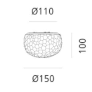 Artemide Artemide Meteorite wand/decken