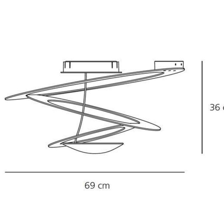 Artemide Artemide Pirce Mini Decken