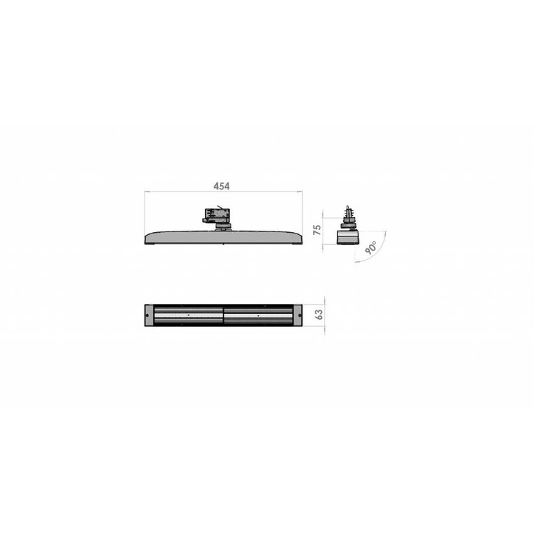 Lucente Lival Scope Double direct 3540Lm