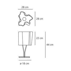 Artemide Artemide Logico Mini table