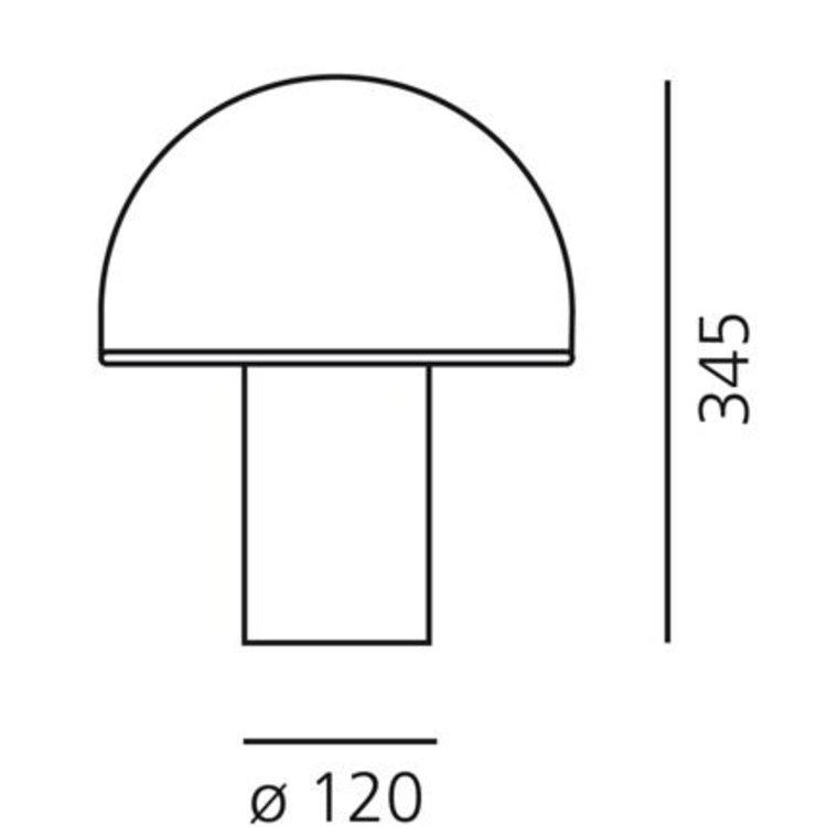 Artemide Artemide Onfale Medio Tafellamp