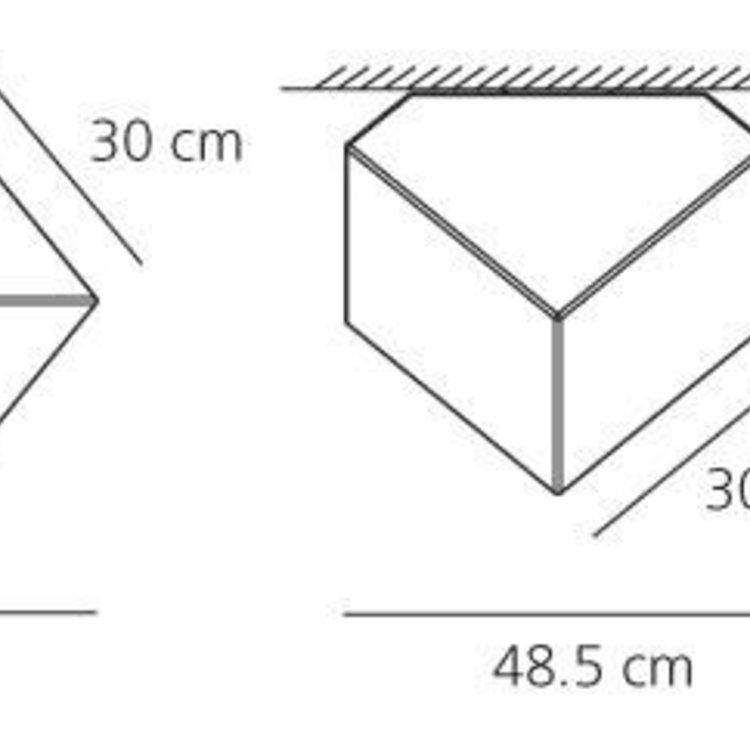Artemide Artemide Edge 30 Wall/Ceiling