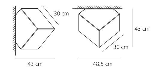 Artemide Artemide Edge 30 wand/decken