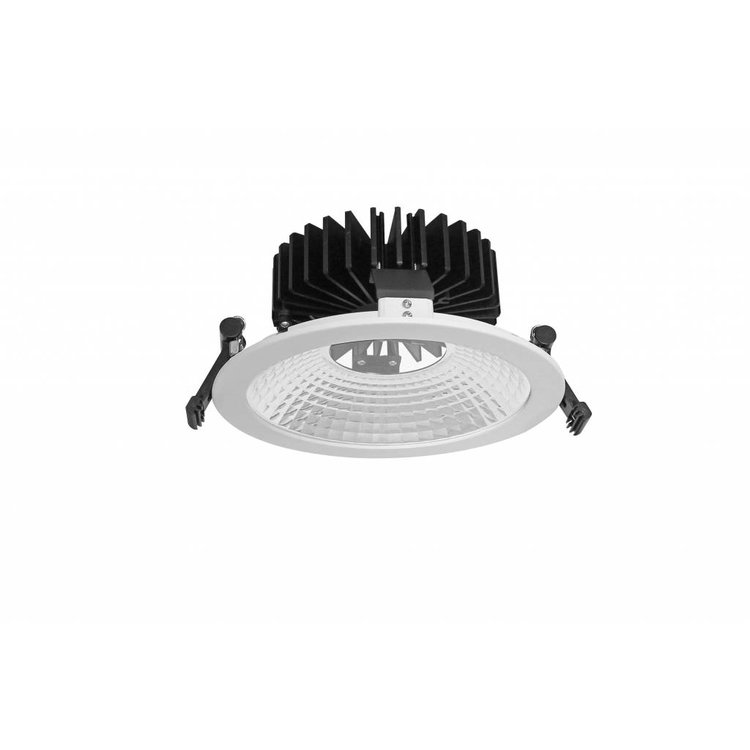 Lucente The World LED low frosted glass