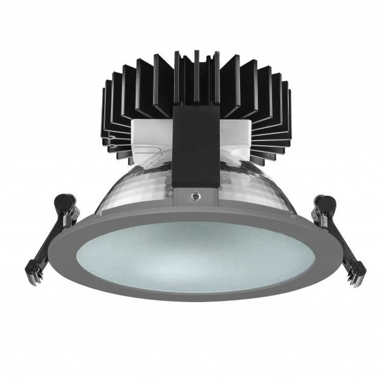Lucente The World LED high frosted glass