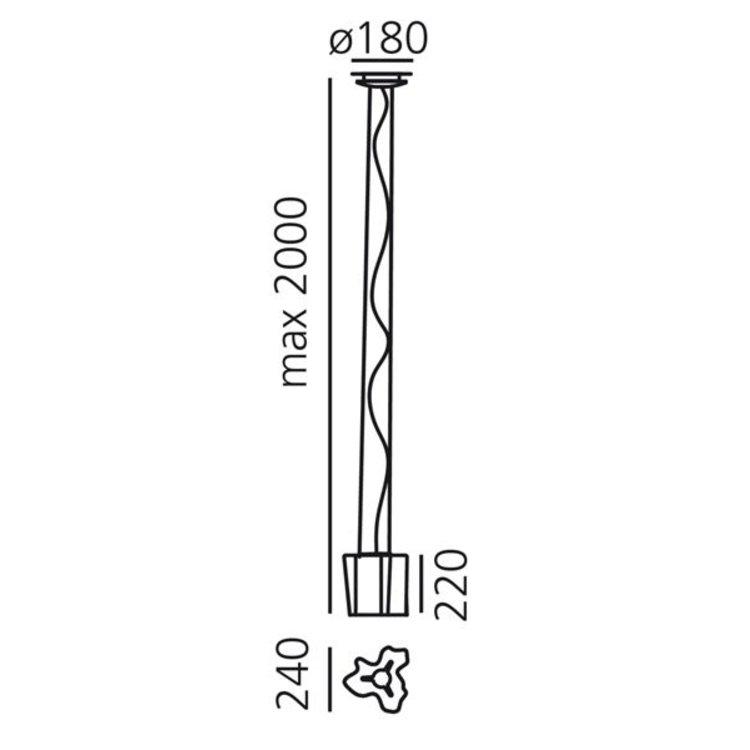Artemide Artemide Logico suspension