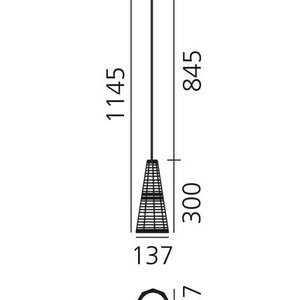 Artemide Null Vector Alfa suspension