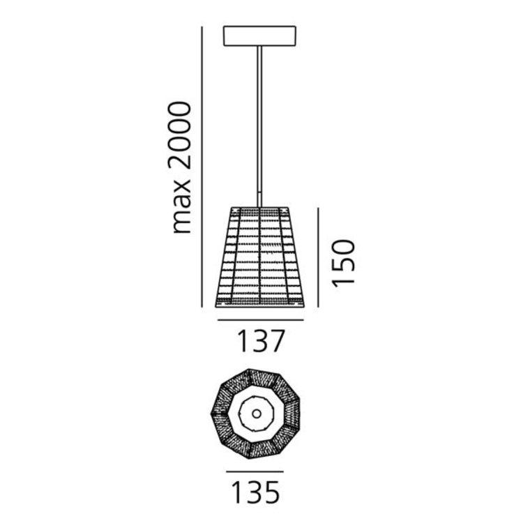 Artemide Null Vector Beta suspension