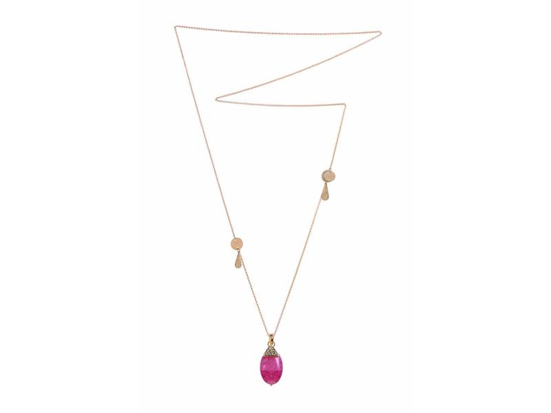Necklace Pink Palazzo