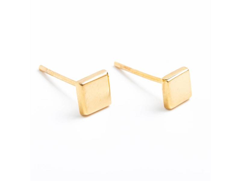 Earring gold Spectrum