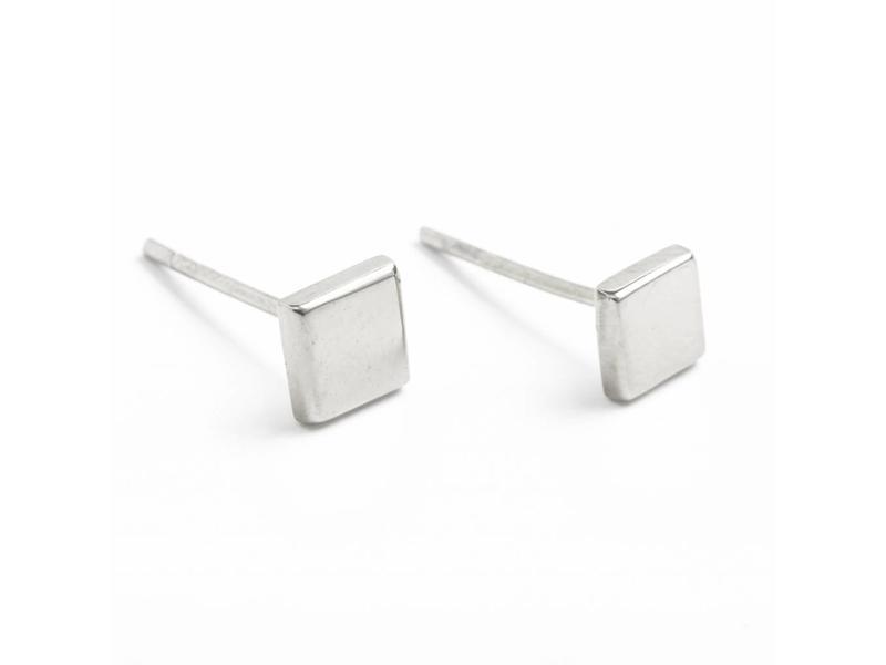 Earring silver Spectrum