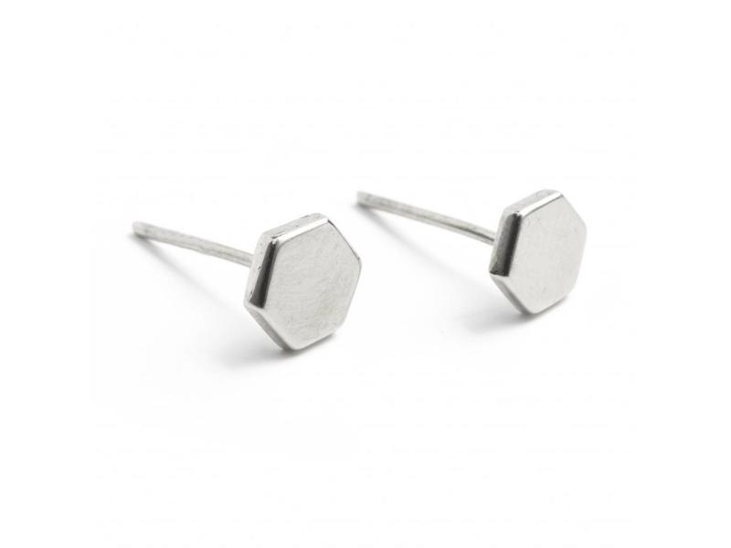 Earring silver HXGN