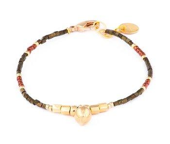 Armband Golden Pecan
