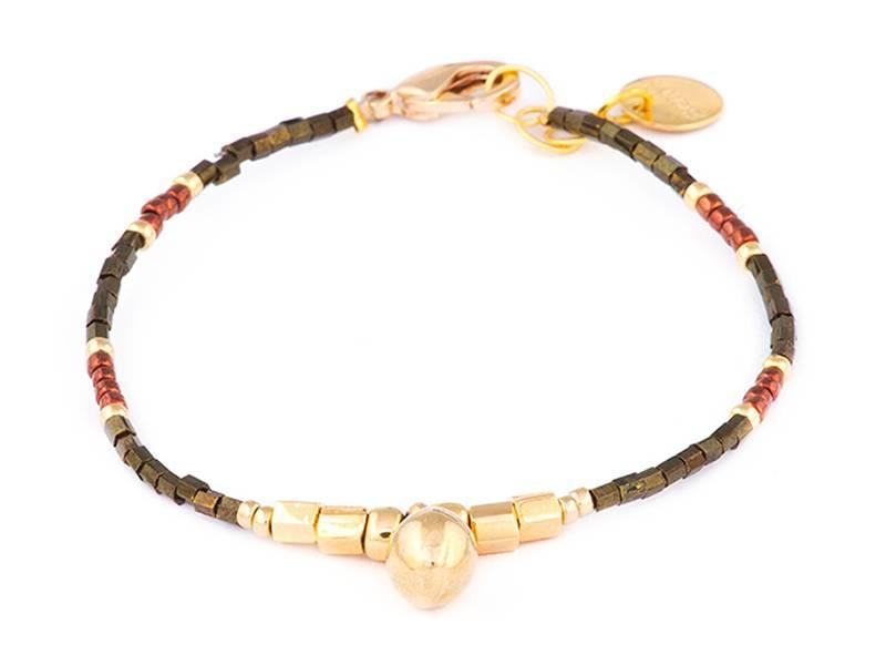 Armbander Golden Pecan