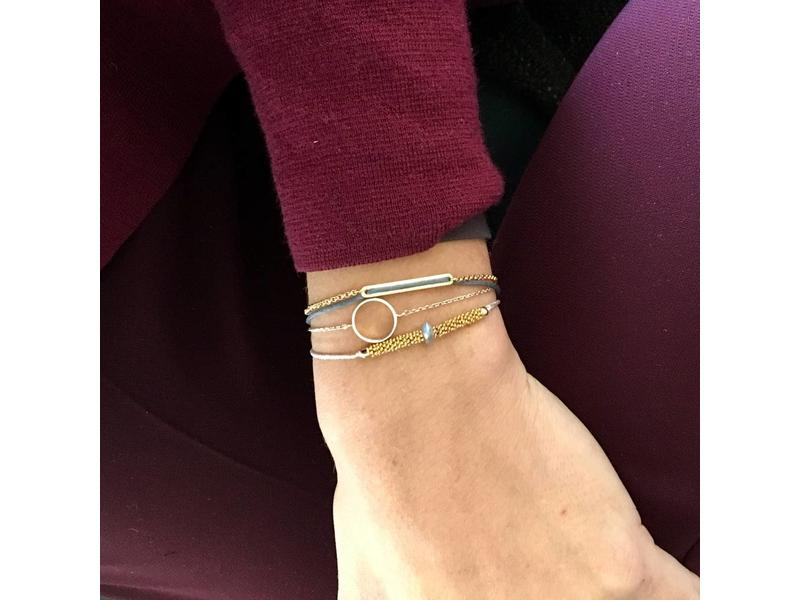 Armband Delphinium
