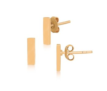 Earring gold Half Gravity