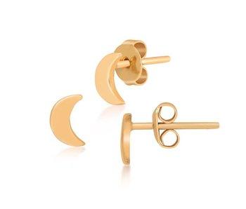Earring gold Moonshine