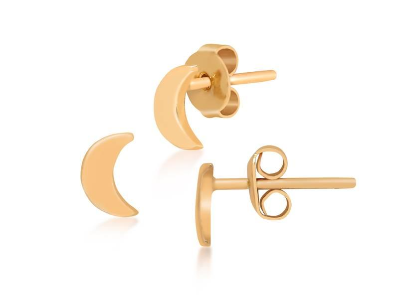 Earring gold Moonshine