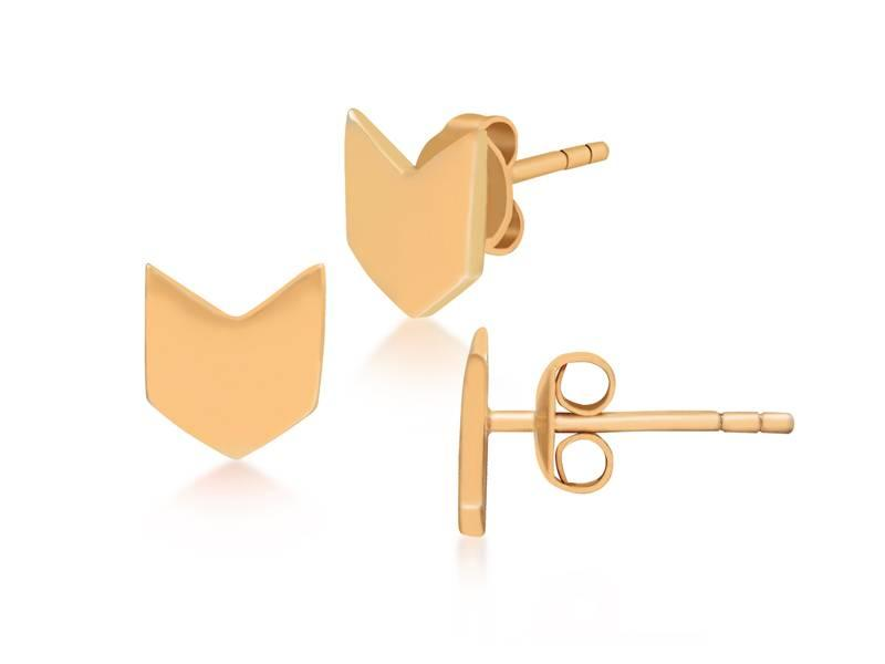 Earring gold Flaglife