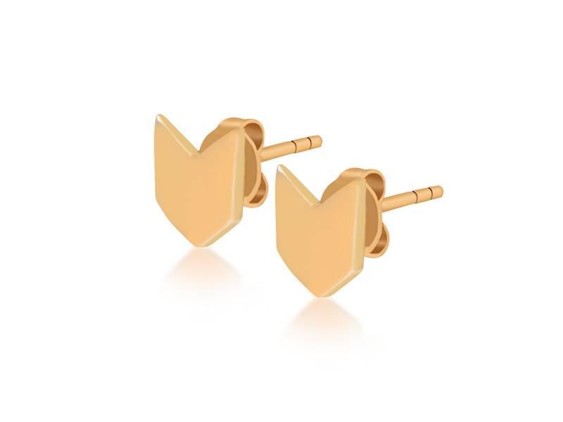 Oorbellen gold Flaglife