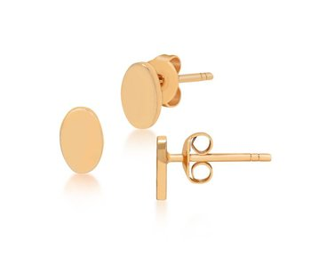 Earring gold Chromosphere