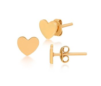 Earring gold To the moon and back