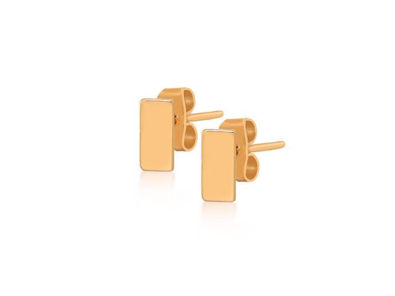 Earring gold Gravity