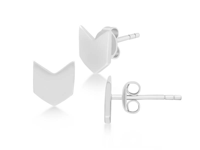 Oorbellen silver Flaglife