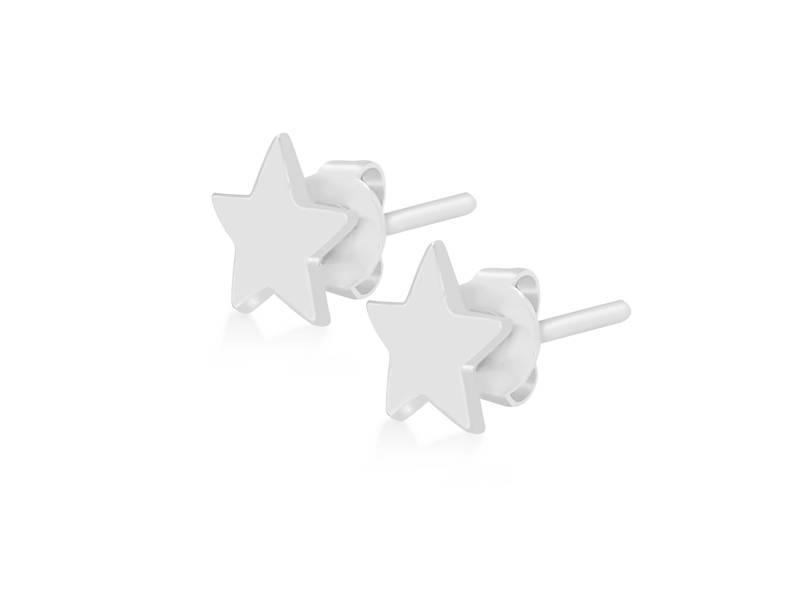 Earring silver Supernova