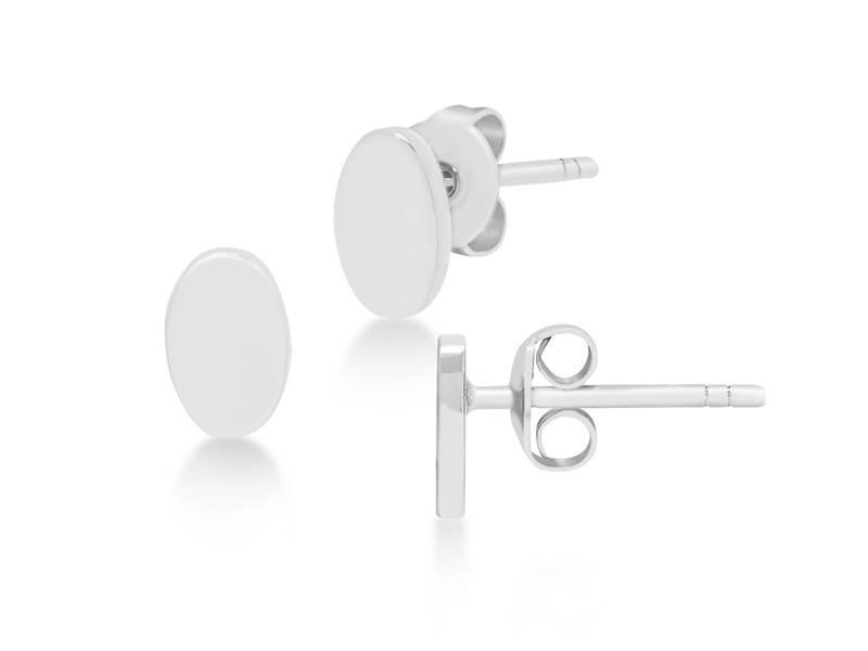 Earring silver Chromosphere