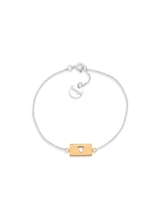 Armband Gold Bar - Triangle