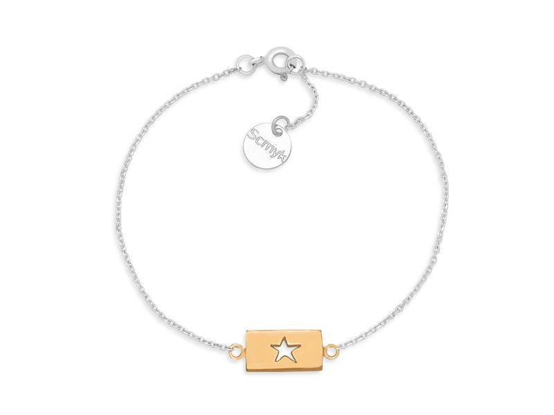 Armband Gold Bar - Star