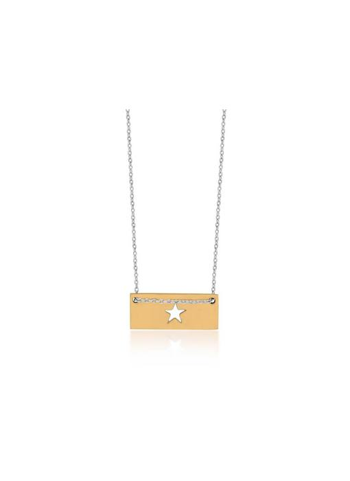 Ketting Gold Bar - Star