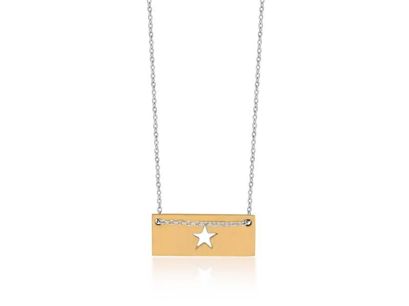 Necklace Gold Bar - Star