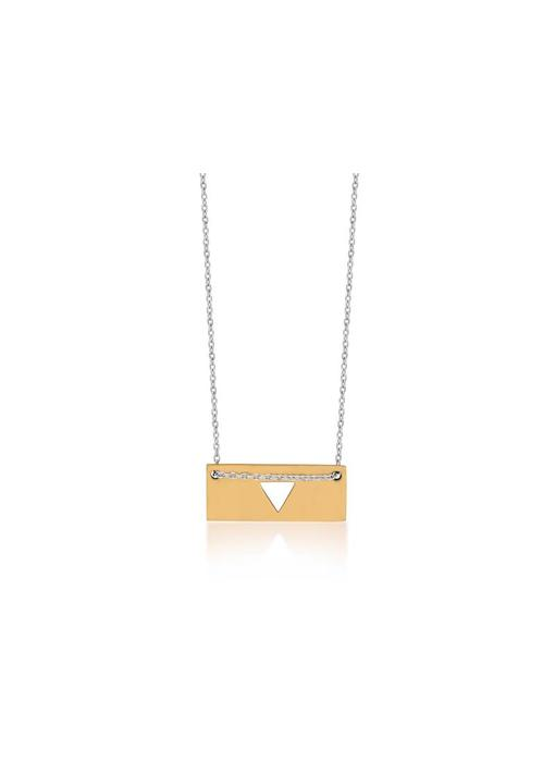 Ketting Gold Bar - Triangle