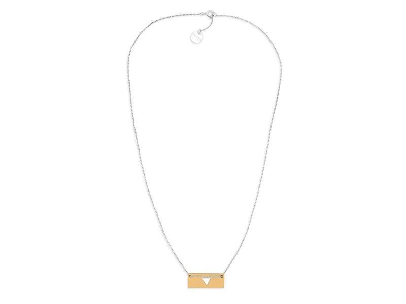 Halskette Gold Bar - Triangle