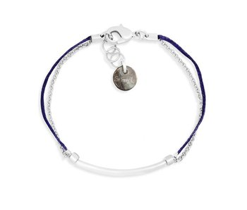 Bracelet Indigo Chrome