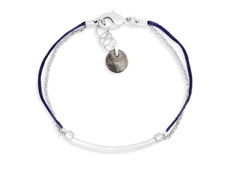 Bracelet Indigo Chrome
