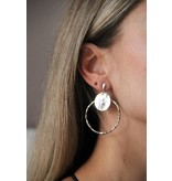 Earring Taupe-less