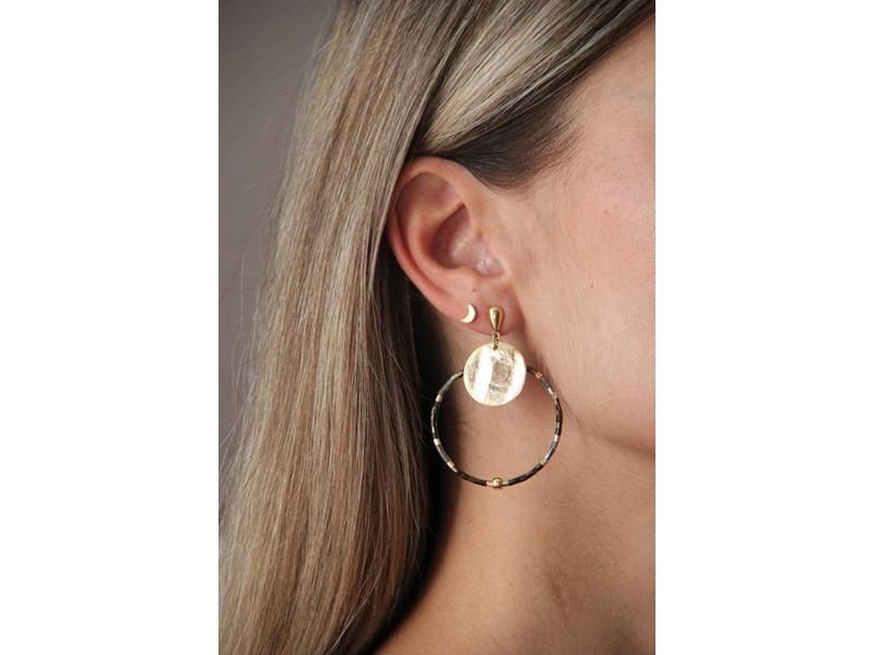 Earring Half Moon