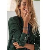Armband Indigo Chrome
