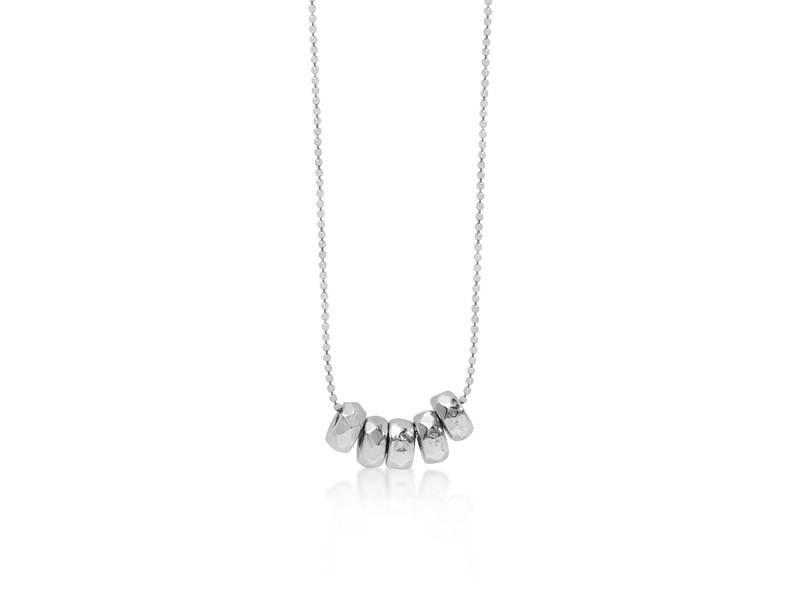 Necklace Silver Milk